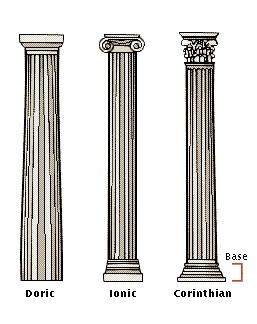 greek columns description